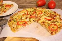 Meat Crust Pizza - Meatza