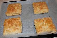 Puff Pastry Cheese Pockets - Step 16