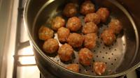 Healthy Chicken Meatballs in a Cream Sauce - Step 8