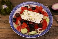 Traditional Greek Salad - Horiatiki - Step 6