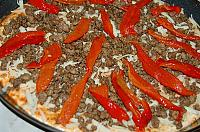 Ground Beef and Za'tar Pizza - Step 11