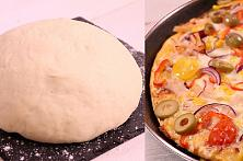 Homemade Pizza Dough - Video Recipe