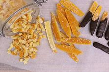 Candied Orange Peel, With Sugar or Low Carb