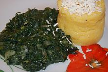 Sauteed Stinging Nettles with Garlic