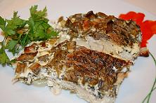Baked Fish with Sour Cream