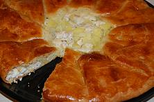 Easy Potato and Meat Pie