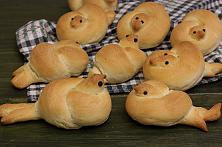 Pigeon Shaped Breads