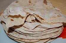 Indian Flat Bread - Roti
