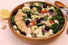 Greek Avocado Chicken Salad