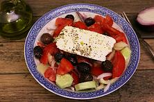 Traditional Greek Salad - Horiatiki