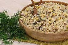 Easy Tuna Pasta and Corn Salad