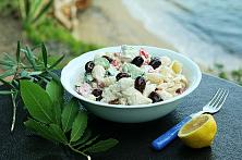 Greek Pasta Salad with Yogurt