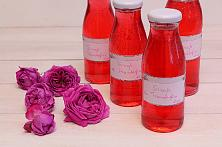 Homemade Rose Syrup