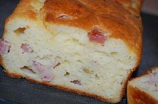 Savory Cheese and Ham Bread