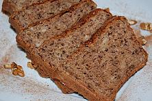 Wholemeal Wheat and Rye Flour Banana Bread
