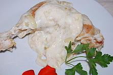 Chicken with sour cream