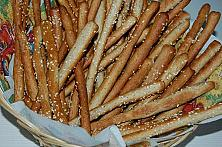 Whole-Wheat Seeded Breadsticks