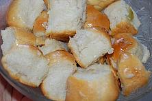 Onion and Garlic Pull Apart Bread - Balabushki