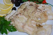 Diet Fish with Onions