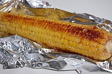 Oven-Baked Corn on the Cob