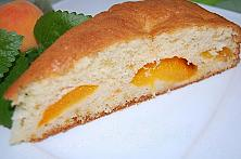 Easy Apricot and Peach Cake