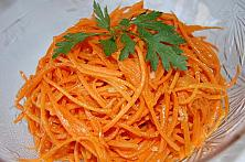 Pickled Carrot Noodles