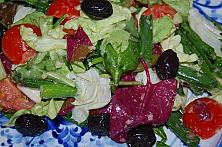 Spring Salad with Special Dressing