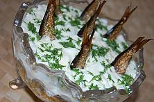 Smoked Sprats Salad