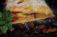 Apple and Raisin Strudel