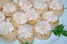 Cream Cheese and Smoked Salmon Vol-au-Vents