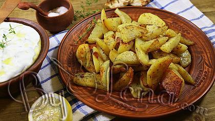 Lemon Greek Potatoes