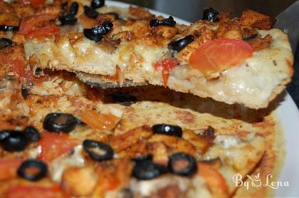 Chicken and Mushroom Pizza Recipe