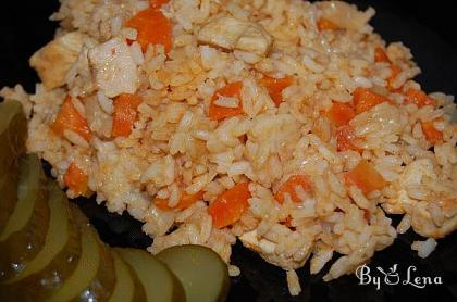 My Father's Rice Pilaf Recipe