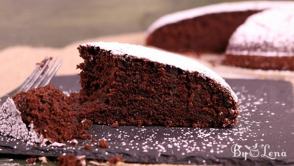 Vegan Chocolate Cake(Crazy Cake)