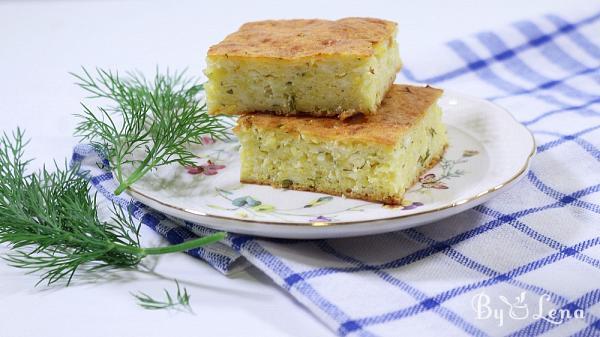 Savory Cornbread with Cheese - Alivenci
