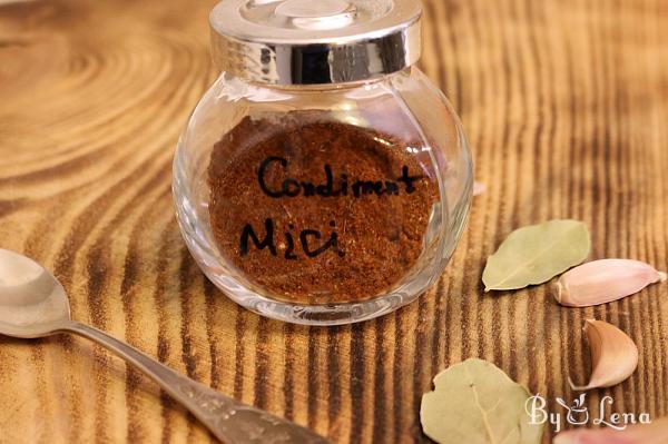 Romanian Mici Spice Mix