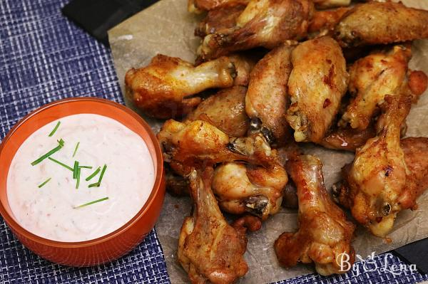 Crispy Baked Chicken Wings, Quick and Flavourful