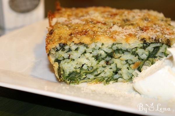 Spinach-Rice Casserole