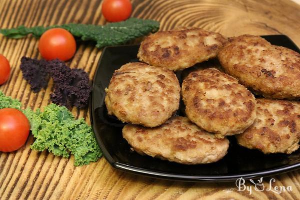 Low Carb Rissoles, No Bread or Breadcrumbs