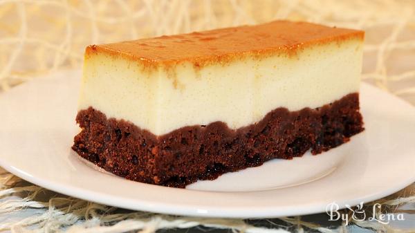 Easy Chocoflan Cake