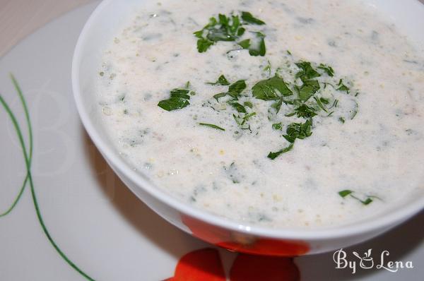 Raw Creamy Vegan Mushroom Soup