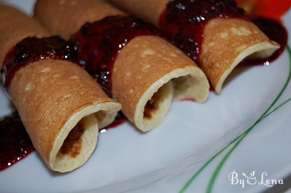 Oatmeal and Semolina Pancakes