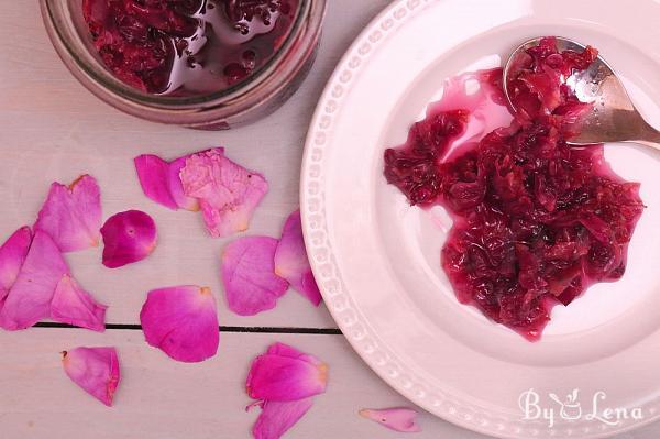 Homemade Rose Petal Jam