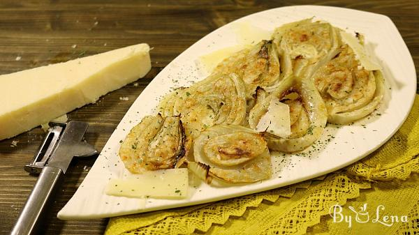 Easy Roasted Fennel