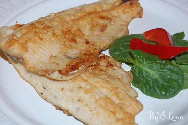 Easy Pan-Fried Trout Fillets