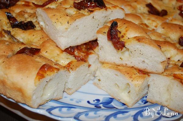 Onion Cheese Focaccia