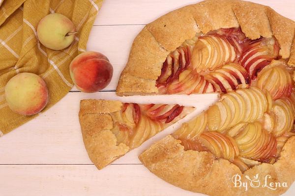 Easy Peach Galette Recipe