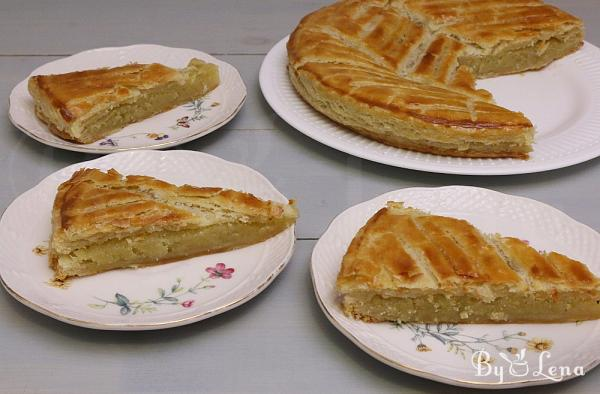 Galette des Rois - Puff Pastry Cake with Almond Cream