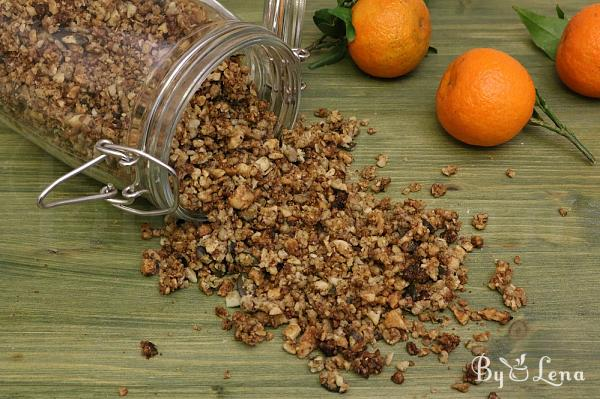 Carb-Free and Gluten-Free Granola, Low Carb