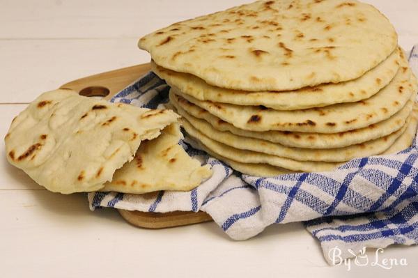Greek Pita Bread for Gyros